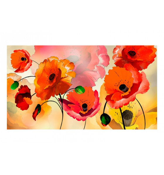 550x270 cm. Flowers