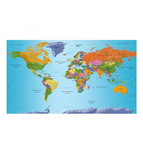 550x270 cm. World's maps